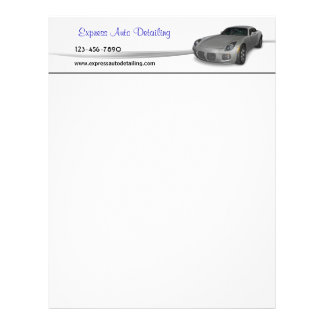 Automotive Service Letterhead