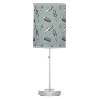 Automotive Spark Plugs Desk Lamps