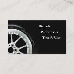 Tire business cards zazzle automotive tires and rim sales business card colourmoves