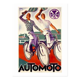 Automoto Tarjeta Postal