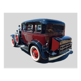 Automóvil 1932 del vintage postal
