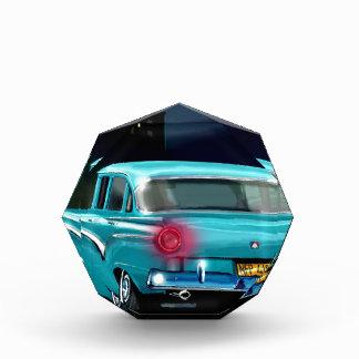 Automóvil americano clásico del estilo de los años