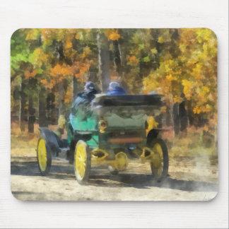 Automóvil del vapor de Stanley Alfombrillas De Raton