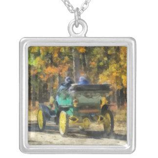 Automóvil del vapor de Stanley Colgante Cuadrado