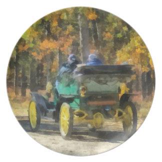 Automóvil del vapor de Stanley Platos
