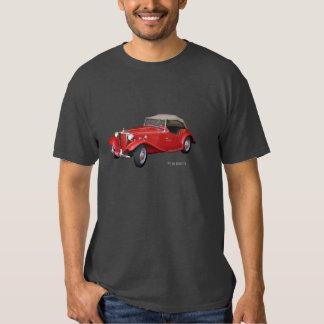 Automóvil descubierto 1952 de MG Remeras