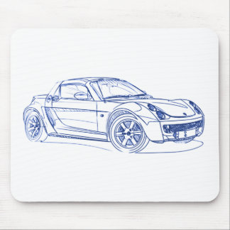 Automóvil descubierto 2003 de Sma Mouse Pad