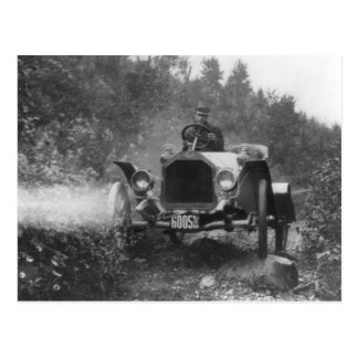 Automóvil descubierto de Buick, vintage rocoso Postales