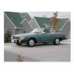 Automóvil descubierto de Mercedes-Benz 560 SL Postales
