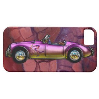 Automóvil descubierto gemelo 1961 de la leva de MG iPhone 5 Case-Mate Protectores