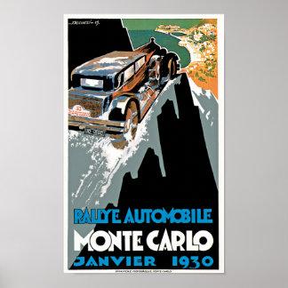 Automóvil Monte Carlo de Rallye Impresiones