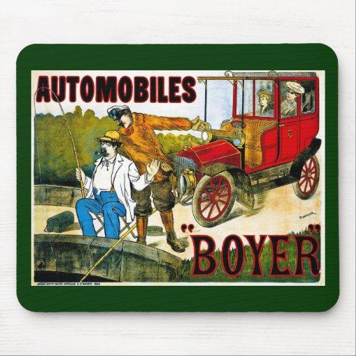 Automóviles Boyer - vintage Tapete De Ratón