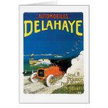 Automóviles Delahaye Tarjeta