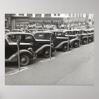 Automóviles en Omaha, 1938 Impresiones