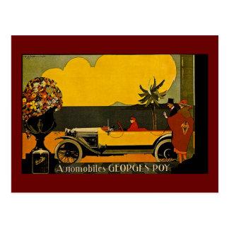 Automóviles Jorte Roy - anuncio del vintage Postales