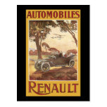 Automóviles Renault Postales