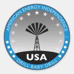 Autonomía energética americana etiquetas