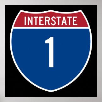 Autopista 1 posters
