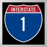 Autopista 1 póster