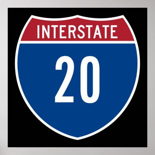 Autopista 20 póster