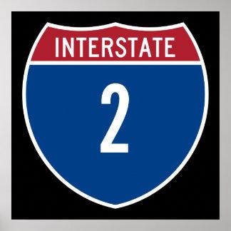 Autopista 2 posters