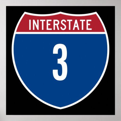 Autopista 3 posters