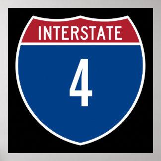 Autopista 4 posters