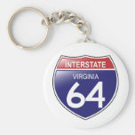 Autopista 64 en el llavero de Virginia