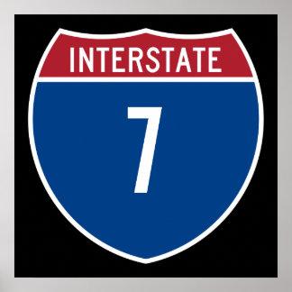 Autopista 7 posters
