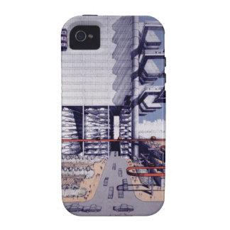 Autopista del Lower Manhattan de LOMEX Case-Mate iPhone 4 Fundas