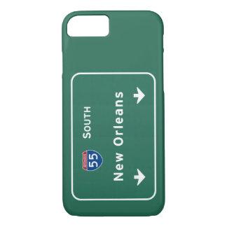 Autopista sin peaje de la carretera nacional de funda iPhone 7
