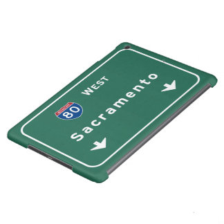 Autopista sin peaje de la carretera nacional de funda para iPad air