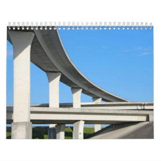 Autopistas de la Florida del sur Calendarios De Pared