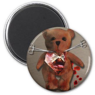Autopsia de T Bear Magnet Imán Para Frigorifico