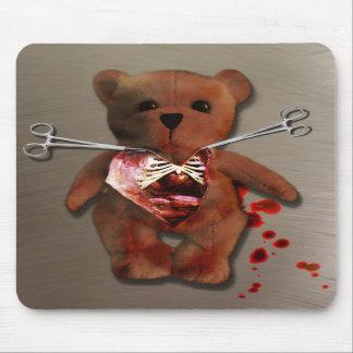 Autopsia de T Bear Mousepad Alfombrilla De Ratón