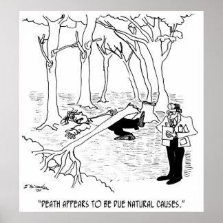 Autopsy Cartoon 4094 Poster