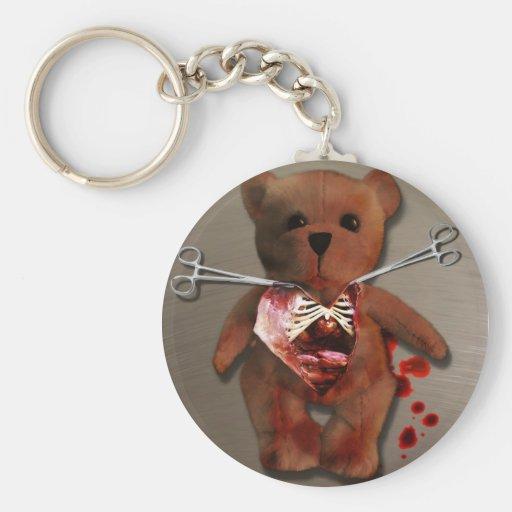 Autopsy of T. Bear Keychain
