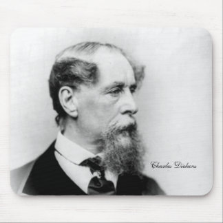 Autor de Charles Dickens Alfombrillas De Raton
