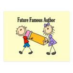 Autor famoso del futuro postal
