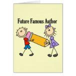 Autor famoso del futuro tarjetas