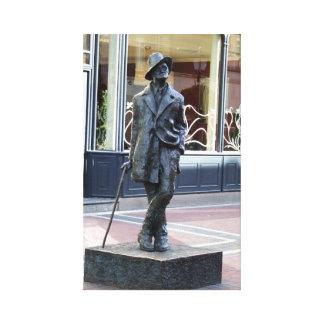 Autor James irlandés Joyce, impresión de la Lona Envuelta Para Galerías