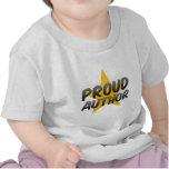 Autor orgulloso camisetas