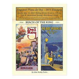 Autorice PDR BoTK - pergamino del oro Tarjeta Postal