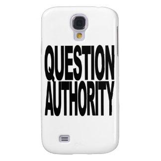 Autoridad de la pregunta funda para galaxy s4