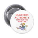 autoridad de la pregunta pin