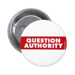 ¡Autoridad de la pregunta - rojo! Pin