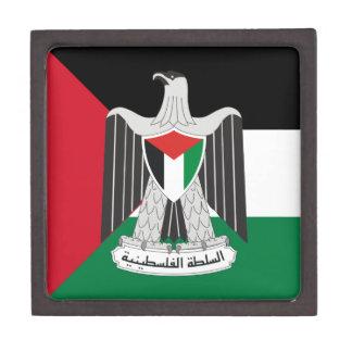 autoridad de Palestina del emblema Cajas De Regalo De Calidad
