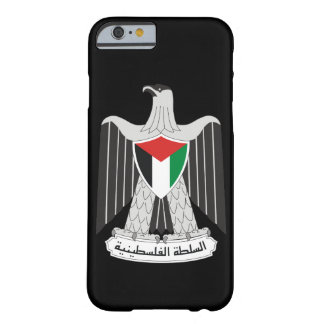 autoridad de Palestina del emblema Funda Para iPhone 6 Barely There