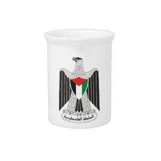 autoridad de Palestina del emblema Jarras Para Bebida