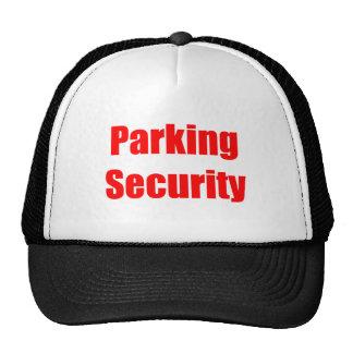 Autoridad del estacionamiento de la ciudad gorros bordados